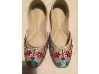 Ladies lndian Shoes