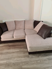 Corner sofa and 3 seater sofa £200 each or £400 for both