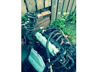 Honda Civic 1.6 engine and gearbox (ep3)