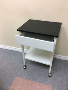 Side table, side table with wheels