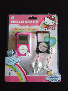 Hello Kitty Microphone & Stand and NEW Digital HK MP3 Player London Ontario image 1