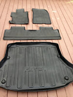 HONDA ALL SEASON FLOOR MATS AND TRUNK TRAY