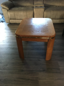 Coffee and  two End Tables