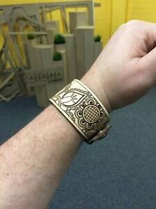 Batik-Style Leather Wristbands Gilmore Tuggeranong Preview