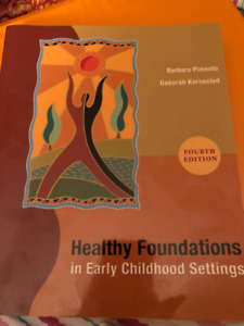 Healthy Foundations in Early Childhood Settings (4th Ed)