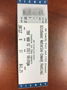 Kitchener-Waterloo Comedy Festival Tickets