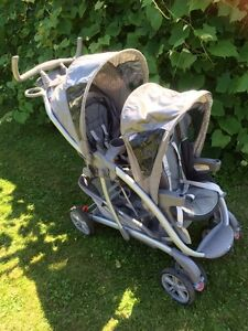 Beautiful double Graco stroller in like new cond.
