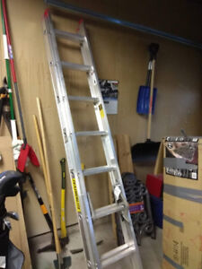16ft/4.9m; 200 LBS FEATHERLITE Aluminum Extension Ladder $60 obo