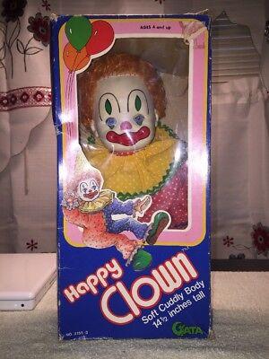 """HAUNTED"" 1981 Clown Doll In Original Box****Buyer Beware****"