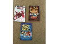 High school musical books
