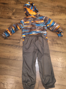 Boys 4/5T spring rain coat and slush pants