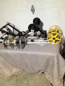 "128"" mach z  with 11 tooth sprocket and 9 "" billet wheels Gatineau Ottawa / Gatineau Area image 3"