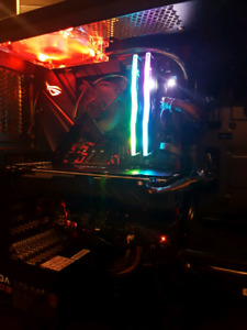 VR Ready gaming PC Built 1 month ago. GREAT VALUE!!!! 1300 obo.