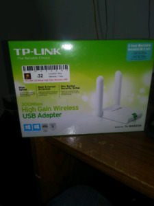 TP Link 300 mbps high gain wireless adapter
