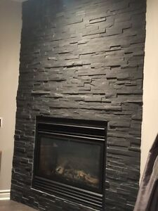 Stones for fireplace