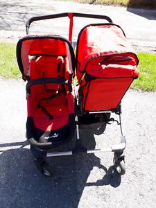 First wheels dbl stroller