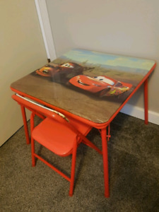 DISNEY Cars Table and Chair Set