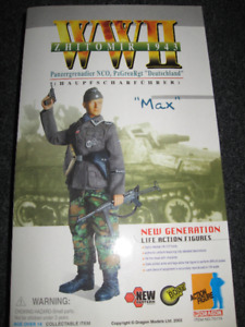 "1/6 Scale WW2 Dragon Figure "" Max '' - Zhitomir 1943"