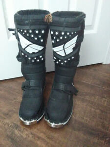 FLY Racing motocross boots womens size 6