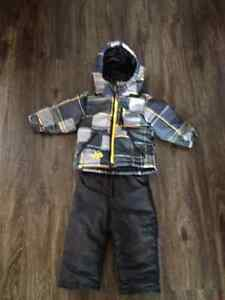 Boys toddler snowsuit 18 month