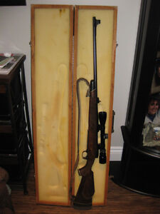 carabine 300 winchester magnum+carabine 22 avec chargeur