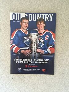 Gretzky/Messier Oil Country Vol 1 Issue 1 Oct 9/2014