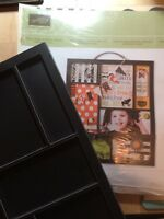 Stampin Up Halloween Picture Frame w/ Accessory Pack Complete