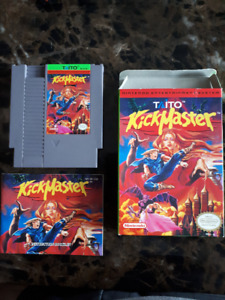 NES Game - Kick Master (with box and manual)