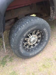 """Wheels and 35"""" tires"""