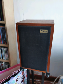 Rogers high fidelity speakers