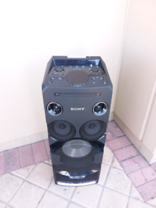 Sony Premium Floor Standing High Power HiFi System with Bluetooth