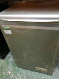 SMALL CHEST FREEZER SILVER WITH WARRANTY AT RECYK APPLIANCES
