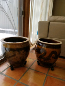 Chinese pots