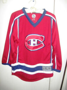 New Montreal Canadians Starter Hockey Jersey NHL L/XL