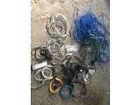 Various computer cables etc