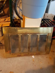 Fireplace Insert And Tools For Sale