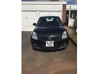 Suzuki swift 1.6 sport 3dr black