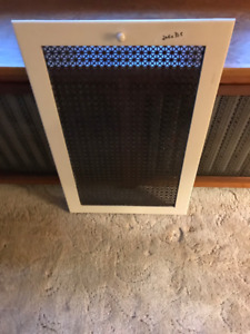 VTG GRATES for hot water radiator cover , wooden framed