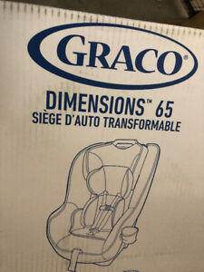 Brand new Graco Dimensions 65 Convertible Car Seat, Pierce
