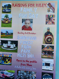 Fundraising event Sunday 3rd oct NG219HL