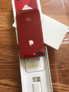 iphone 8 Plus Product Red 256GB Warranty 10 Months