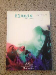 New Alanis Morissette music book