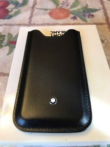 Montblanc iPhone SE 5s leather case Rolex L@@k