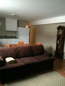 1 Bedroom Furnished apartment ~ available July 1, 2018