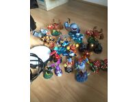 Skylander figures and portal of power all in good condition