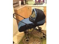 Britax pushchair (carry cot)