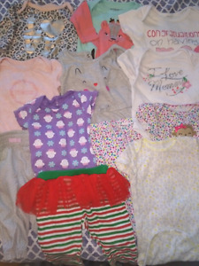 Baby Girl Clothes - 12 items