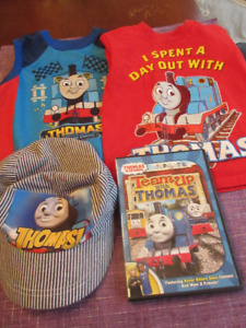 Thomas The Tank - T-shirts, hat and CD Ages 2-3 yrs