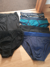 Mens briefs and boxers