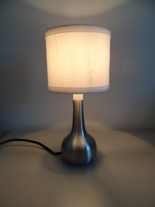 A Small Table/Desk Lamp with Bulb